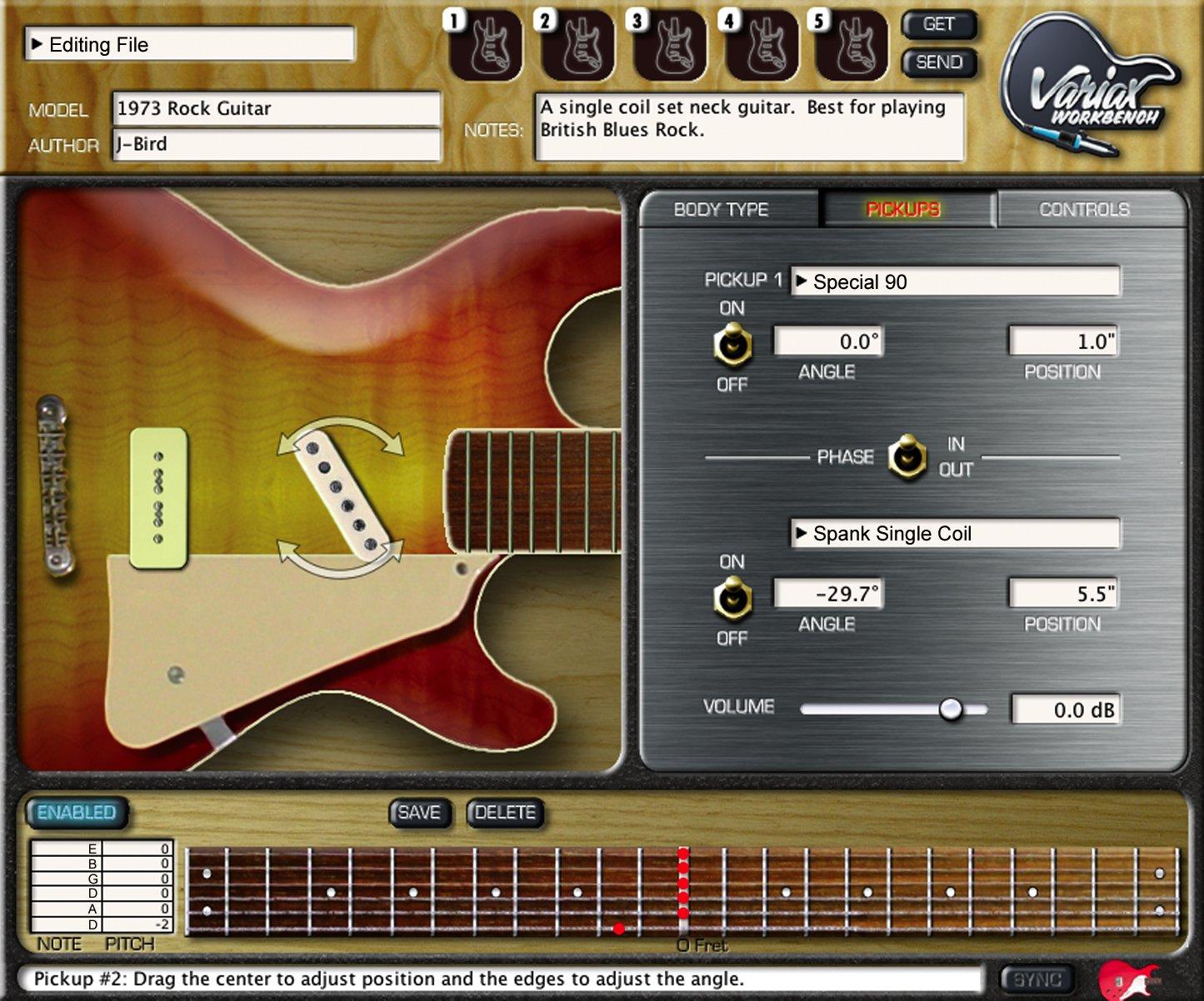 Műhangzás vagy a jövő gitárja?
