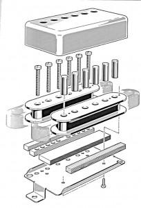 Gibson Humbucker felépítése