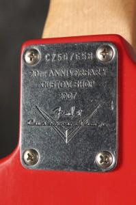 Fender Custom Shop nyak