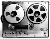 Az Ampex Model 200, amit Les Paul továbbfejlesztett