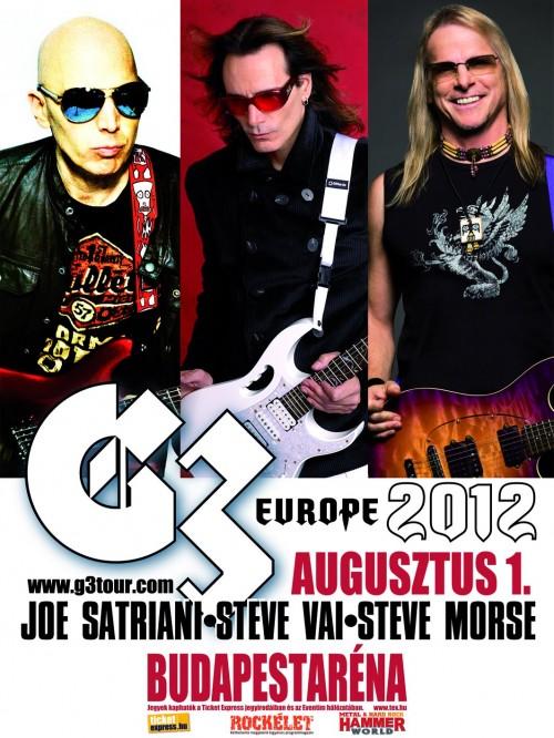 G3 koncert, augusztus 1., Budapest Aréna
