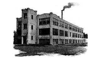 A Gibson háromszintes épülete Kalamazoo-ban