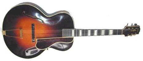 Gibson L-5, az akkori csúcskategóriás archtop akusztikus