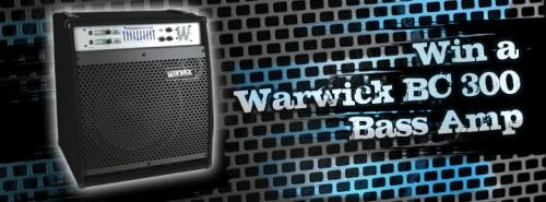 Nyerj Warwick BC 300 basszus erősítőt!