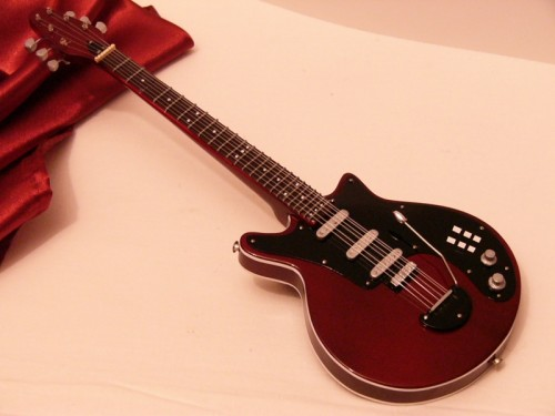 Mini Brian May Custom Red Special