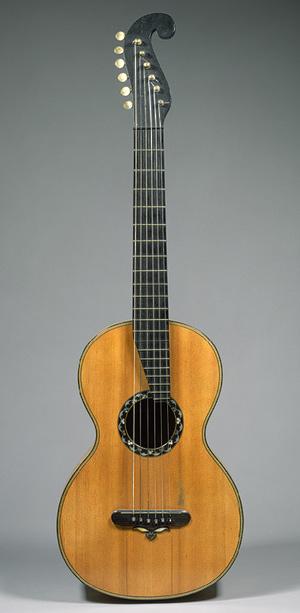 Martin gitár, még Németországból, 1838 (Heilbrunn Timeline of Art History)
