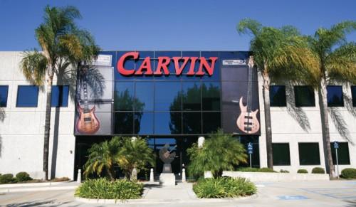 A Carvin üzeme San Diegóban