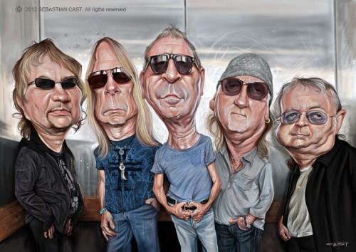 Deep Purple (© Sebastian Cast)
