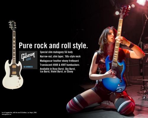 Gibson Goddess hirdetés
