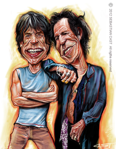 Jagger és Richards (© Sebastian Cast)