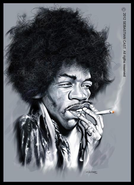 Jimi Hendrix (© Sebastian Cast)