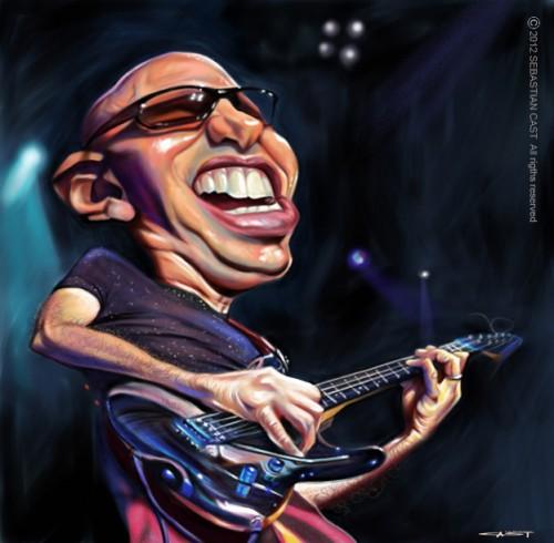 Joe Satriani (© Sebastian Cast)
