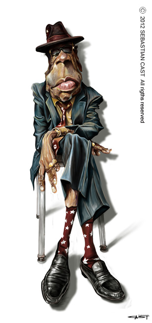 John Lee Hooker  (© Sebastian Cast)
