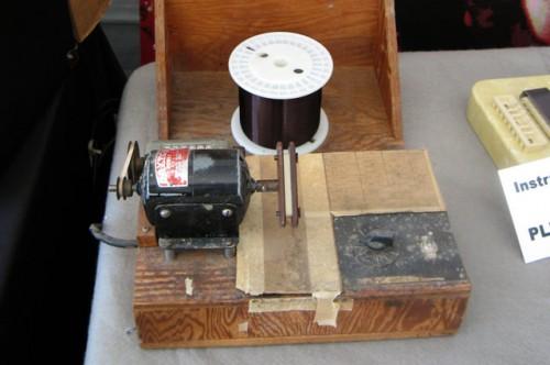 A varrógépből készült tekercselő