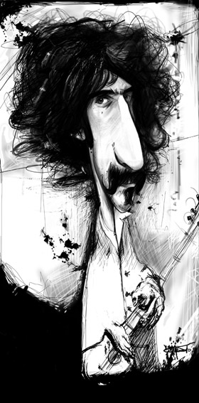 Frank Zappa (© Sebastian Cast)