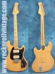 Music Man Stingray II - szintén egy a Leo Fender tervezte gitárok közül