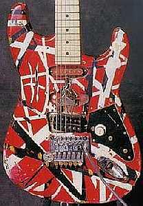 "Eddie van Halen ""Frankenstrat"" és a híres ""design"""
