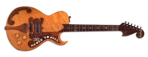 Paul Bigsby készítette 1947-es Merle Travis gitár