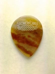 StoneWorks Jazz pengető achátból