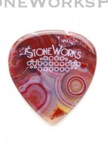 StoneWorks pengető achátból