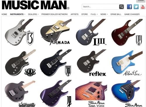 Music Man gitárok