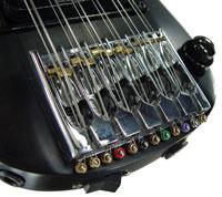 A legkisebb 12-húros gitár hídja