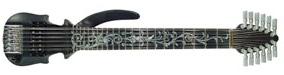 A világ legkisebb 12-húros gitárja