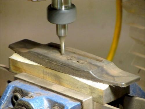CNC-vel készített alu híd