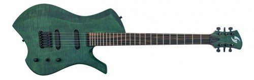 GV Guitars Z-phyr Green Tiger
