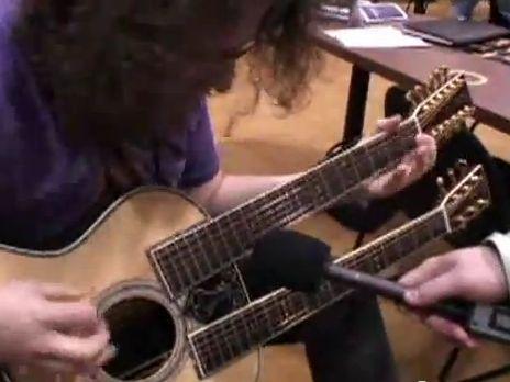 Martin kétnyakú akusztikus gitár!