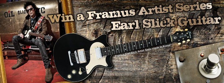 Nyerj Framus gitárt!