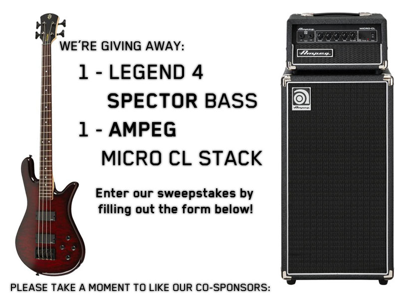 Nyerj Spector basszust, Ampeg erősítőt!