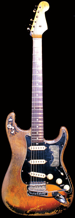 SRV gitárja