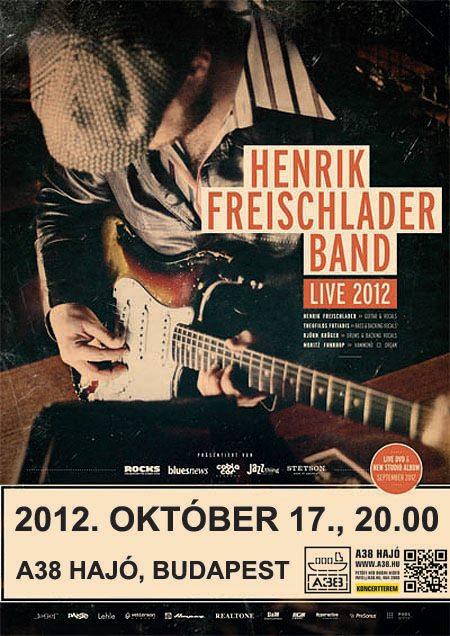 Henrik Freischlader Band koncert